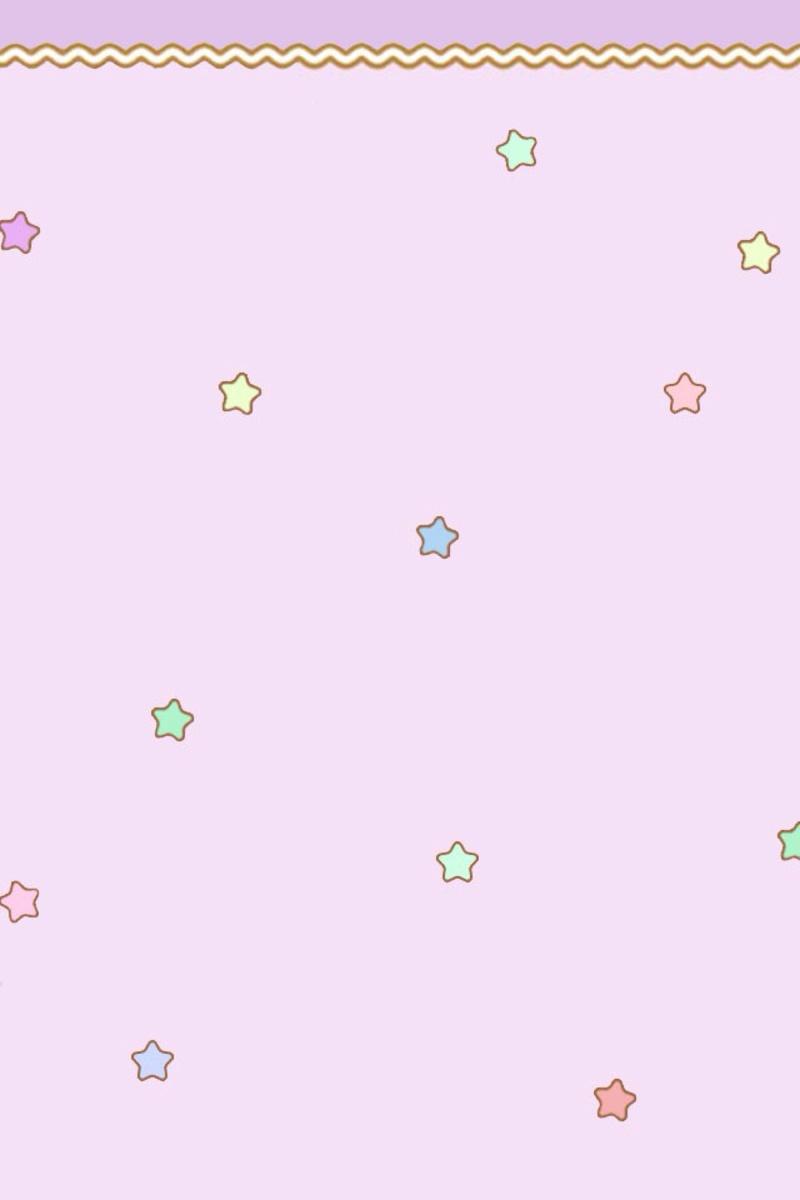 卡通素材星星漂浮