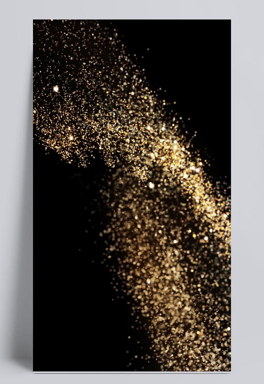 金粉质感背景