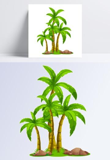 椰子树制造素材机械模板设计与设计吧图片