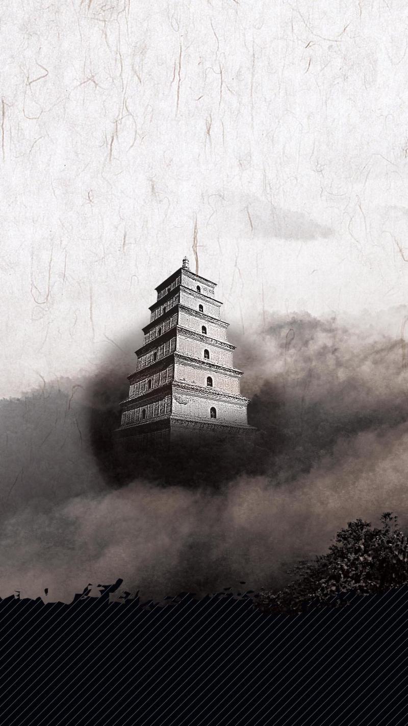 中国风H5背景