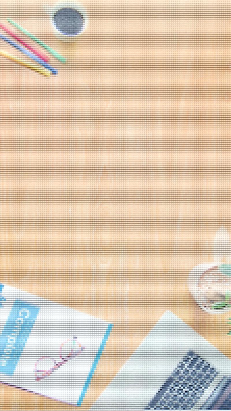 马赛克商务小清新H5背景图
