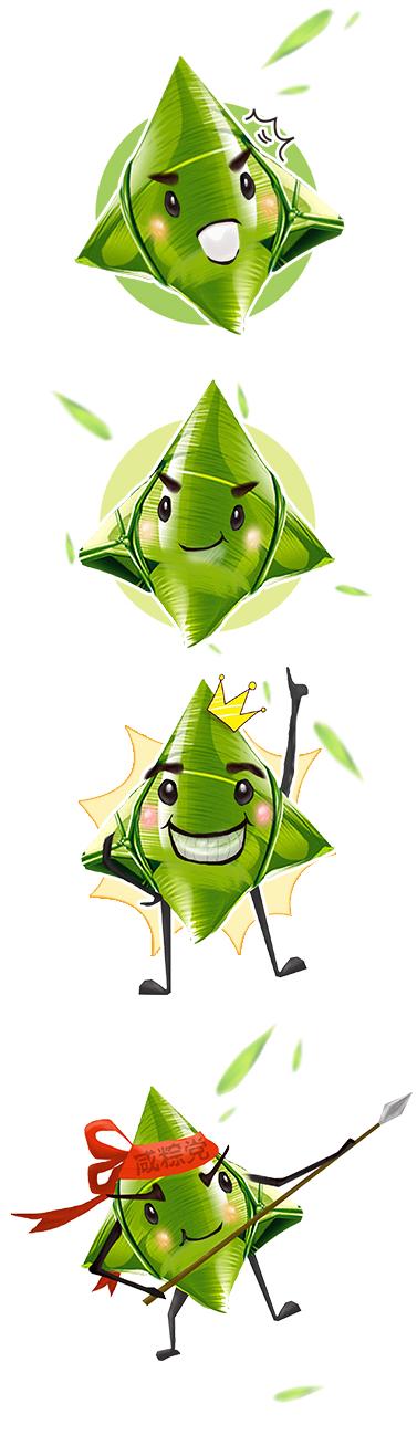 端午节卡通粽子