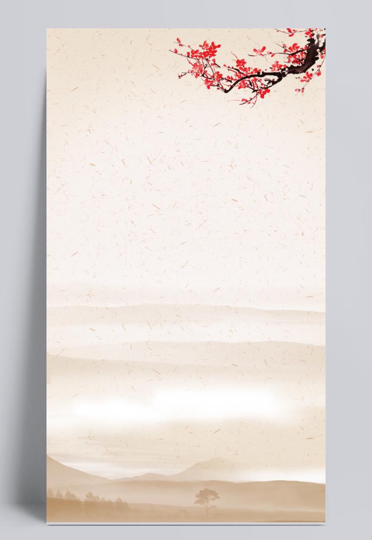 中国风海报背景素材