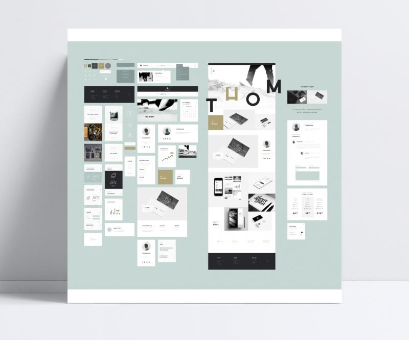创意手机APP界面设计psd素材