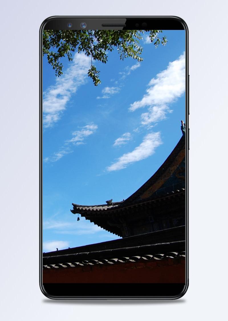 古典城墙中国风风景H5背景