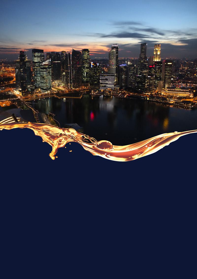 新加坡旅游海报背景设计模板素材