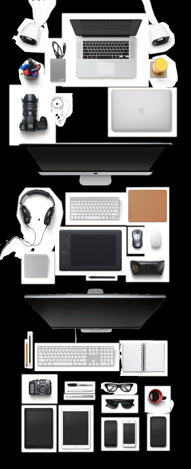 各种电脑办公桌配件