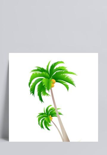 椰子树v模板模板素描建筑设计案例优秀素材图片