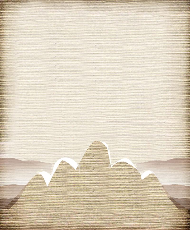 灰色水墨画中国风背景