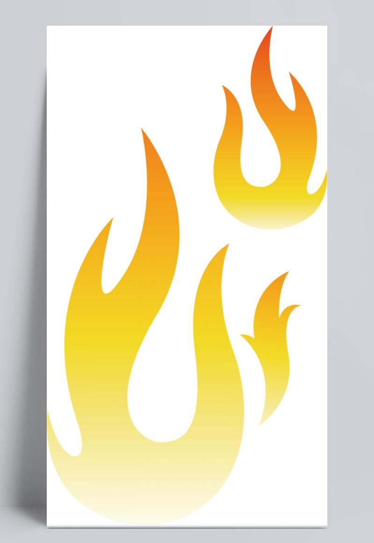 各种形状的火焰