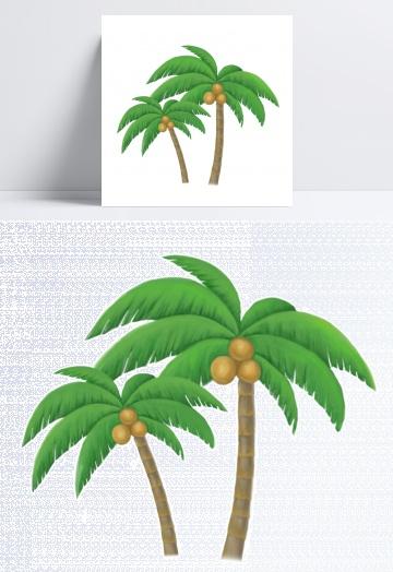 椰子树v素材素材素材简单网页设计所需模板图片