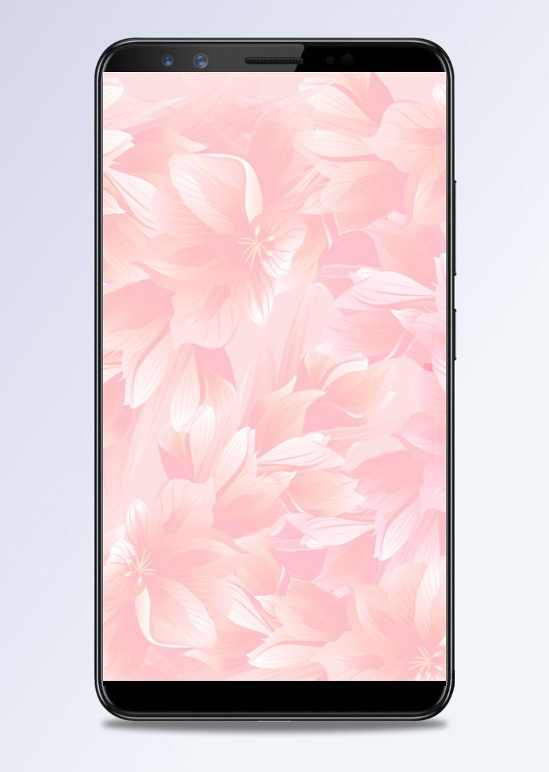 粉色梦幻母亲节H5分层背景